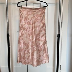 Free People patterned skirt